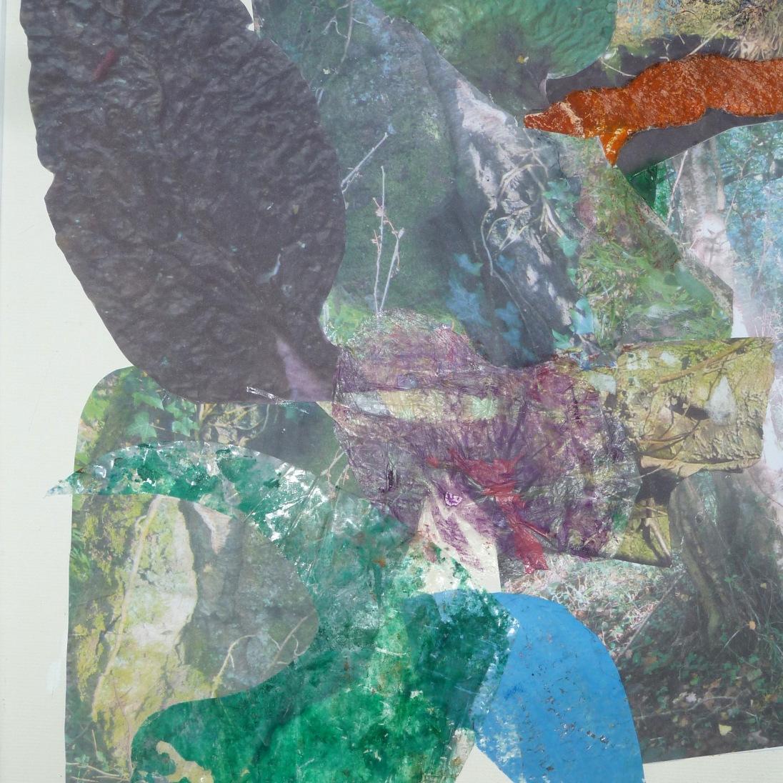 Vegetation, collage